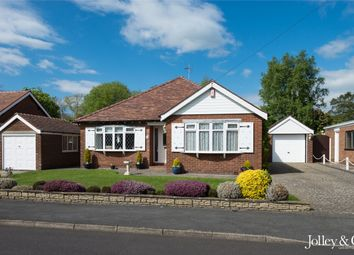 Thumbnail 2 bed detached bungalow for sale in 3 Hillcourt Road, High Lane, Stockport, Cheshire