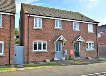 Thumbnail 3 bed semi-detached house for sale in Ross Drive, Stamford