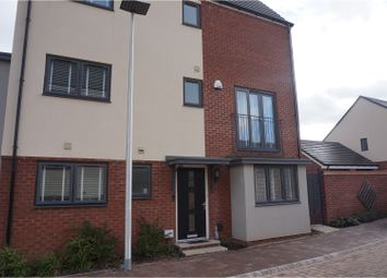 Thumbnail 4 bedroom end terrace house for sale in Westgate Mews, West Bromwich