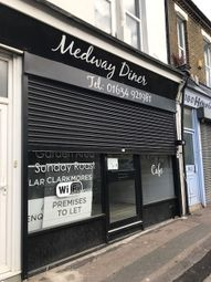 Thumbnail Restaurant/cafe to let in Canterbury Street, Gillingham