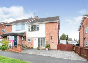 Thumbnail 3 bed semi-detached house for sale in Faire Road, Glenfield, Leicester