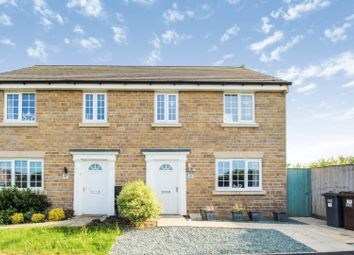 Thumbnail 3 bed semi-detached house for sale in Coupland Meadow, Selby