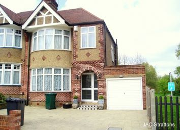 Thumbnail 3 bed semi-detached house to rent in Laurel Way, Woodside Park, London