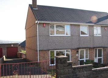 Thumbnail 3 bed semi-detached house to rent in Grantley Gardens, Plymouth, Devon