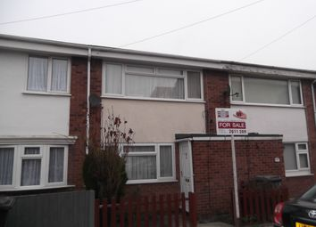 Thumbnail 2 bed terraced house for sale in Hampdon Road, Leicester