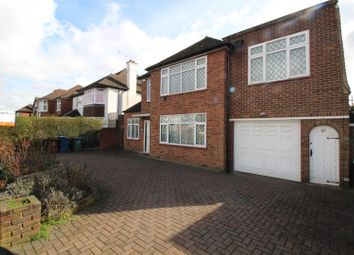 Thumbnail 4 bed detached house to rent in Dalkeith Grove, Stanmore