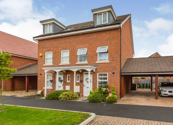Thumbnail 3 bedroom semi-detached house for sale in Carriage Road, Kingsbrook, Aylesbury