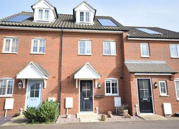 Thumbnail 3 bed town house for sale in Carpenter Close, Wymondham, Norwich, Norfolk