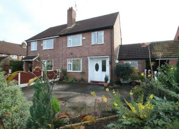 Thumbnail 3 bed semi-detached house for sale in Norris Road, Sale