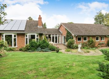 Thumbnail 5 bed detached bungalow for sale in Barnberry Way, Kirkby Underwood, Bourne