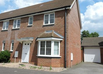 Thumbnail 4 bedroom semi-detached house to rent in Crooked Creek Road, Rendlesham, Woodbridge