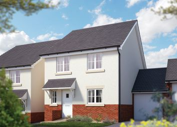 "Thumbnail 4 bed link-detached house for sale in ""The Salisbury"" at Chard Road, Axminster"