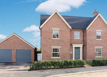 Thumbnail 4 bed detached house for sale in Appleby Magna, Derbyshire