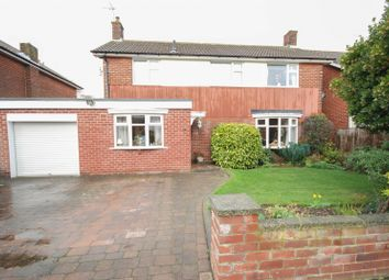 Thumbnail 4 bed detached house for sale in Hunter Close, East Boldon