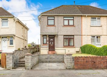 Thumbnail 3 bed semi-detached house for sale in Tyrisha Road, Grovesend, Swansea