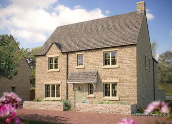 "Thumbnail 4 bed detached house for sale in ""The Ashbury"" at Cinder Lane, Fairford"