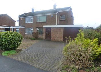 Thumbnail 3 bed semi-detached house to rent in Crayford Road, Alvaston, Derby