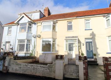 Thumbnail 3 bed terraced house for sale in Leys Road, Chelston, Torquay
