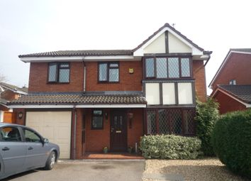 Thumbnail 6 bed detached house to rent in Beverley Close, Penkridge, Staffs