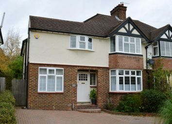 Thumbnail 4 bed semi-detached house for sale in Hookfield, Epsom