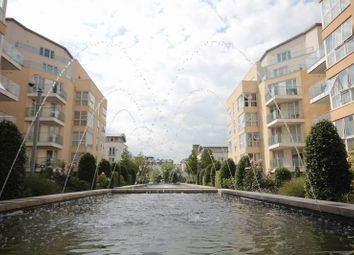 Thumbnail 4 bed flat for sale in Water Gardens Square, London