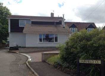Thumbnail 4 bed detached house to rent in Fairfield Close, Backwell, Bristol