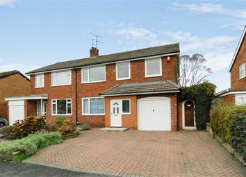 Thumbnail 4 bed semi-detached house for sale in Grosvenor Road, West Heath, Congleton