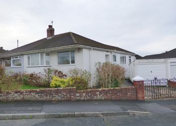Thumbnail 2 bed semi-detached bungalow for sale in Woodford Crescent, Plympton, Plymouth
