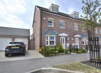 Thumbnail 4 bed semi-detached house for sale in Swannington Drive, Kingsway, Quedgeley, Gloucester