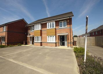 Thumbnail 3 bed semi-detached house for sale in 19, Conqueror Way, Pontefract, West Yorkshire