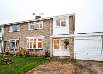 Thumbnail 3 bed semi-detached house for sale in St Fabians Close, Newmarket