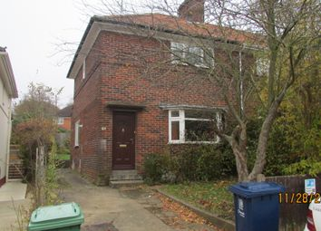 Thumbnail 4 bed semi-detached house to rent in Tawney Street, Oxford