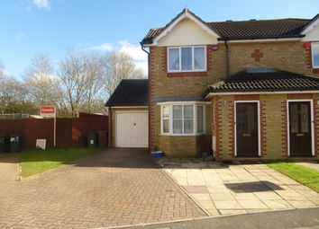 Thumbnail 3 bed semi-detached house for sale in Manor House Drive, Kingsnorth, Ashford