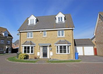 Thumbnail 5 bed detached house for sale in Shooters Chase, Iwade, Sittingbourne, Kent