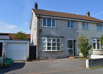 Thumbnail 3 bed semi-detached house for sale in Marlborough Drive, Worle, Weston-Super-Mare