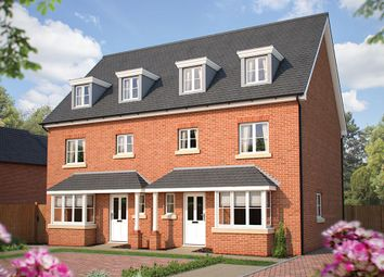 """Thumbnail 4 bed town house for sale in """"The Wimborne"""" at Bromham Road, Bedford"""
