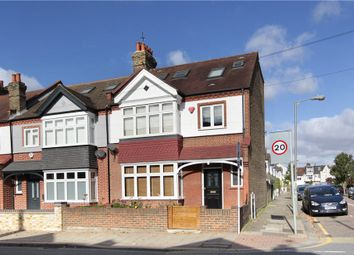 Thumbnail 5 bedroom end terrace house for sale in Broomwood Road, Battersea, London