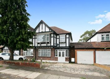 Thumbnail 4 bed semi-detached house for sale in The Crescent, Wembley
