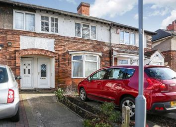 Thumbnail 3 bedroom terraced house for sale in Northleigh Road, Ward End, Birmingham, West Midlands