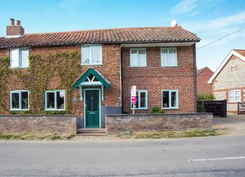 Thumbnail 4 bed semi-detached house for sale in Castle Acre Road, Great Dunham, King's Lynn