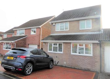 Thumbnail 3 bedroom detached house for sale in Heol Castell Coety, Litchard, Bridgend.