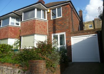 Thumbnail 3 bed semi-detached house to rent in Church Place, Brighton