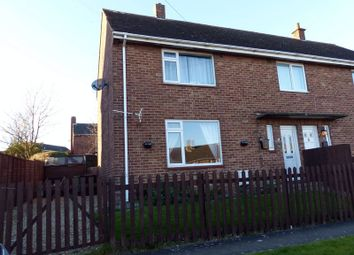 Thumbnail 2 bed semi-detached house for sale in Dale View Road, Brookenby, Market Rasen