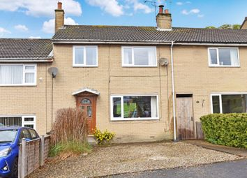 Thumbnail 3 bed terraced house for sale in Grange Close, Shaw Mills, Harrogate