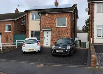 Thumbnail 3 bed detached house for sale in Link Road, Anstey, Leicester