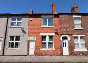 Thumbnail 2 bed terraced house for sale in Lindisfarne Street, Off London Road, Carlisle, Cumbria