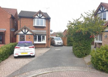 Thumbnail Detached house to rent in Honeysuckle Close, Coalville