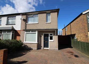 Thumbnail 3 bed semi-detached house for sale in Longfellow Road, Worcester Park