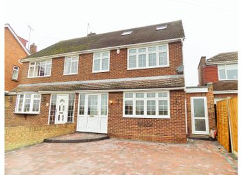 Thumbnail 4 bedroom semi-detached house for sale in Castle Lane, Chalk, Gravesend
