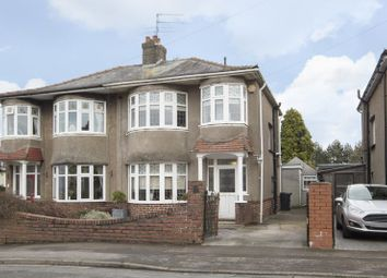 Thumbnail 3 bed semi-detached house for sale in Hove Avenue, Newport